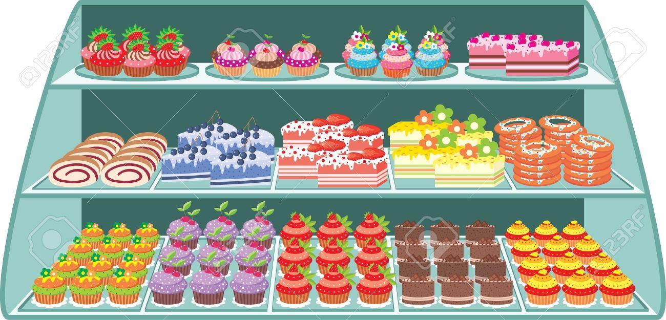 Sweet shop Stock Vector - 11376285