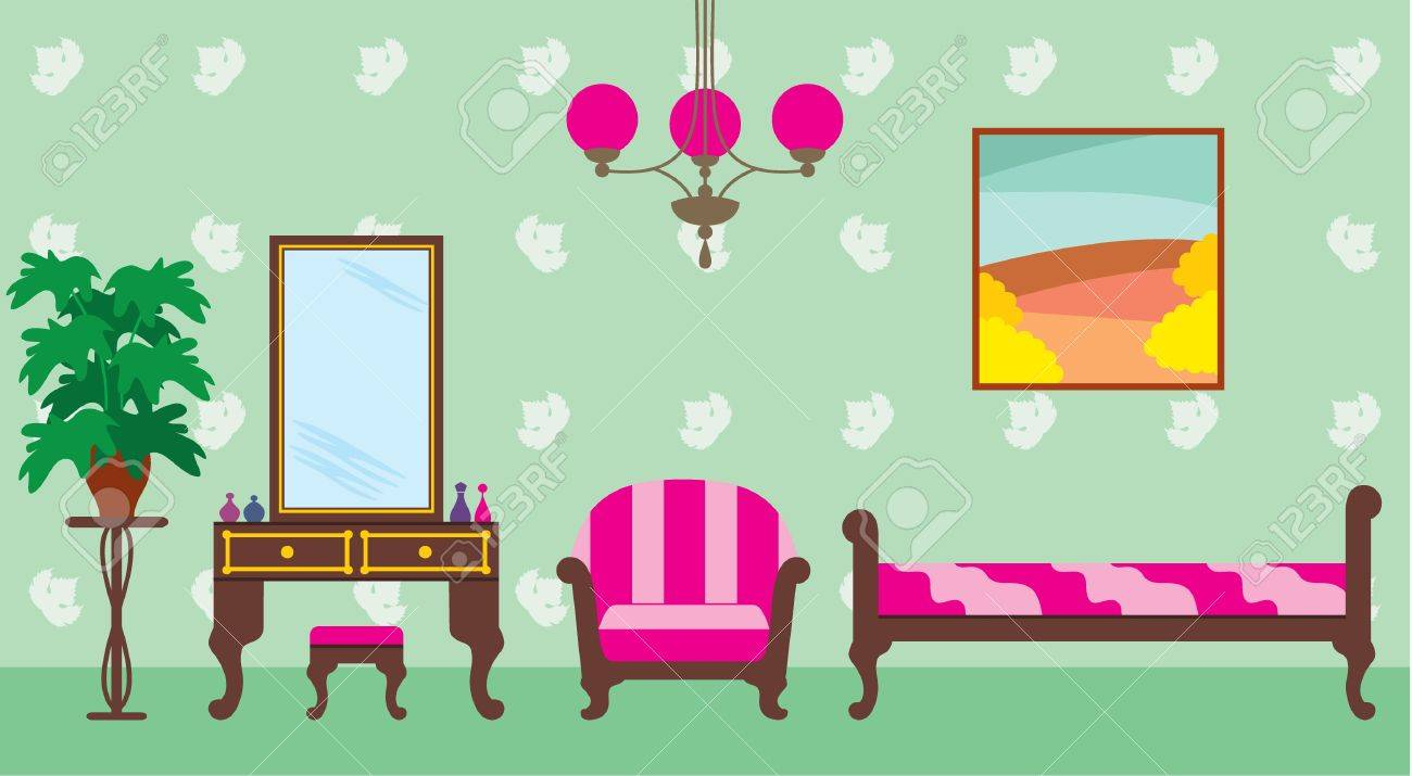 Living Room Royalty Free Cliparts, Vectors, And Stock Illustration ...