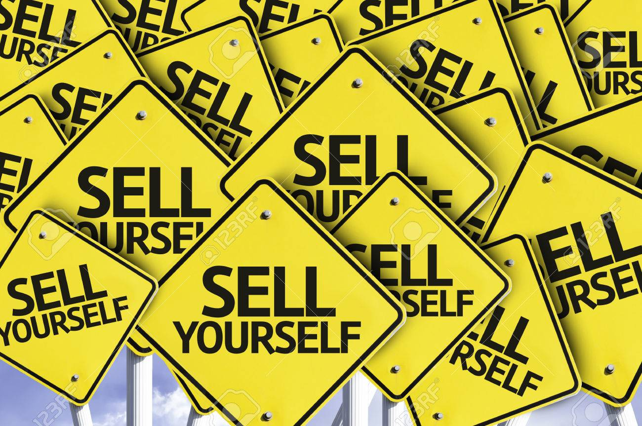 multiple road signs text sell yourself stock photo picture multiple road signs text sell yourself stock photo 57563353