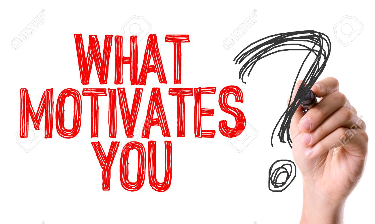 What Motivates You? Written With A Marker Pen Stock Photo   60309598  What Motivates You
