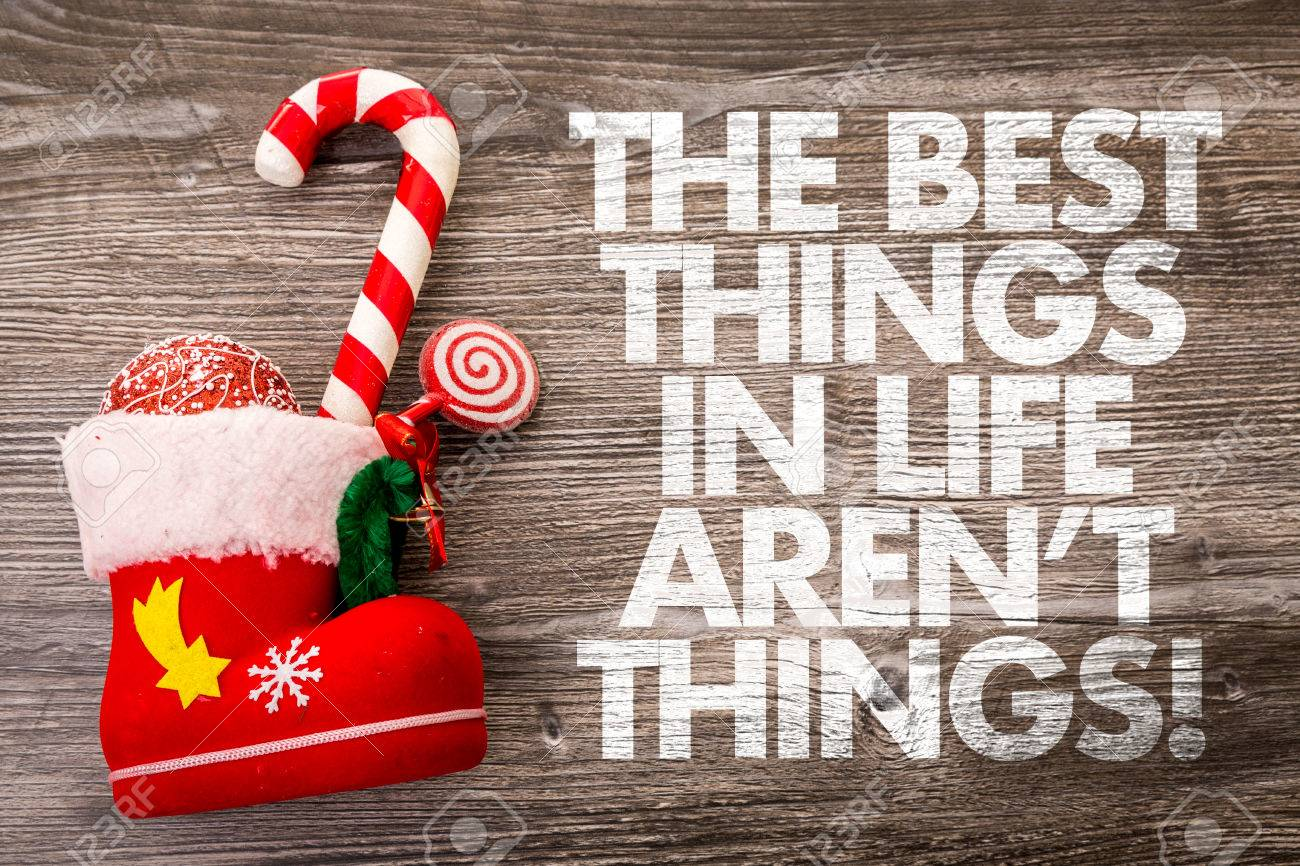 best things in life are not free