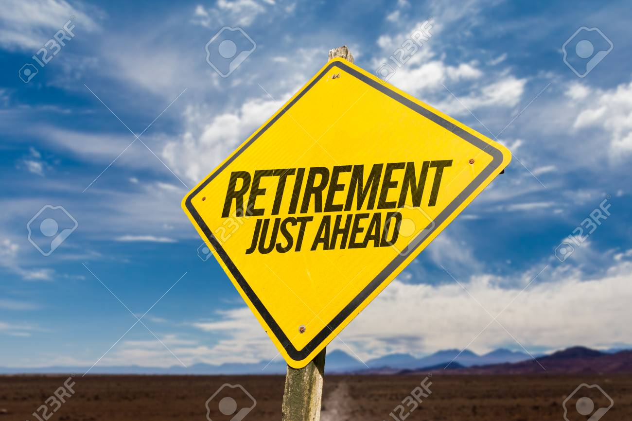 Retirement Just Ahead - 83595409