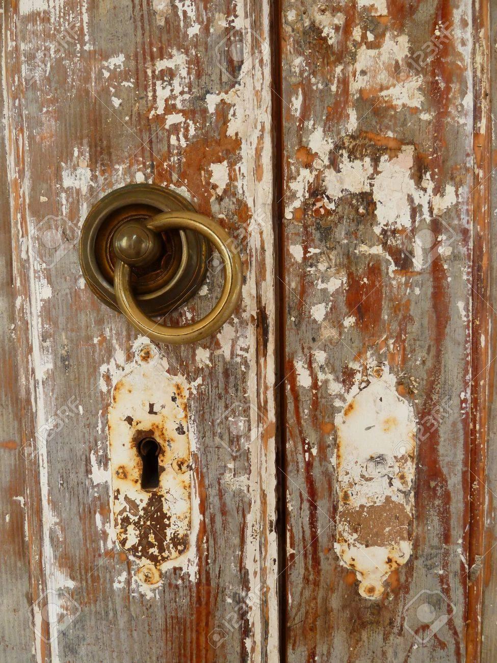 Lock of an old door Stock Photo - 11563462
