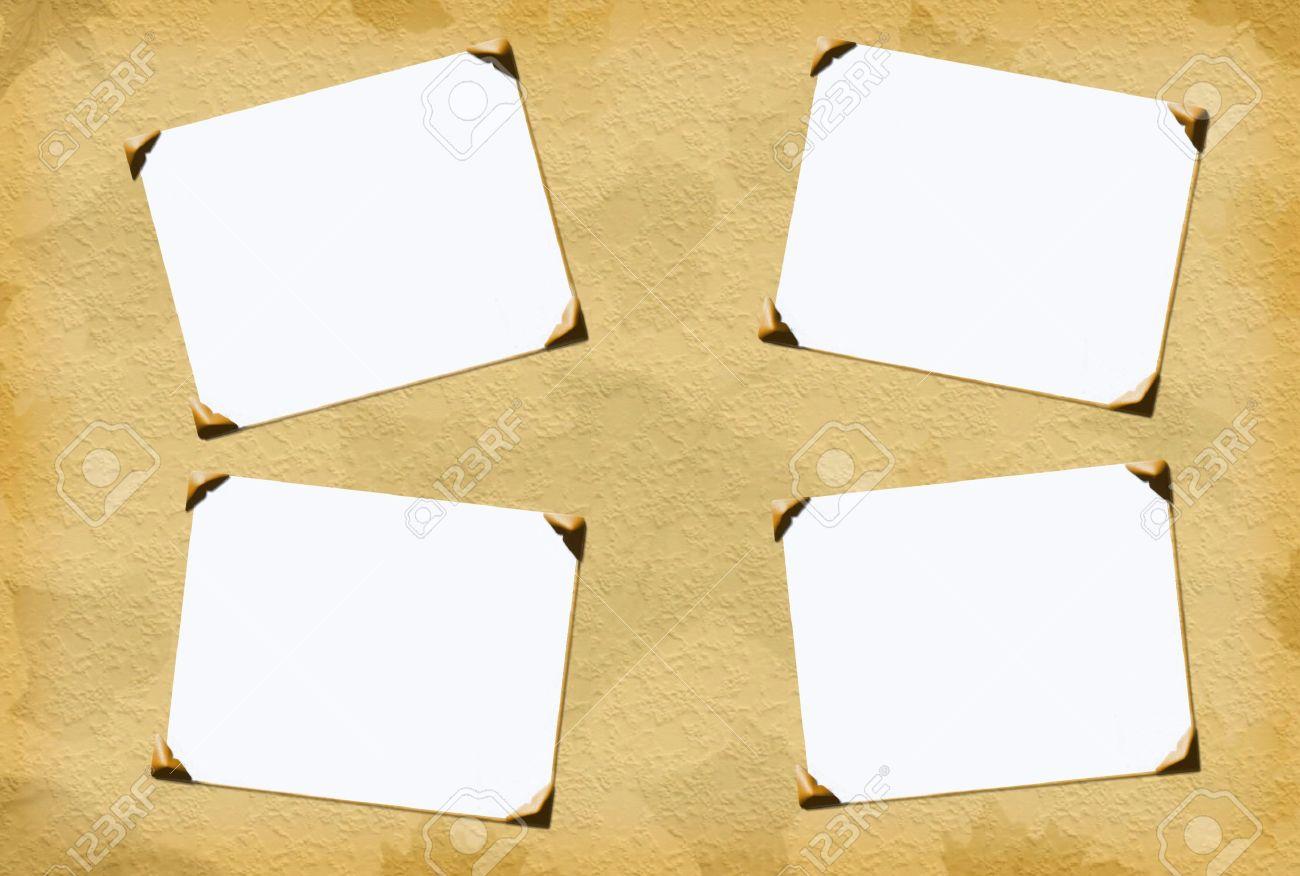 3 pcs PHOTO MINI CADRE / DÉCOUPE DIE CUT PAPIER / EMBELLISSEMENT SCRAPBOOKING
