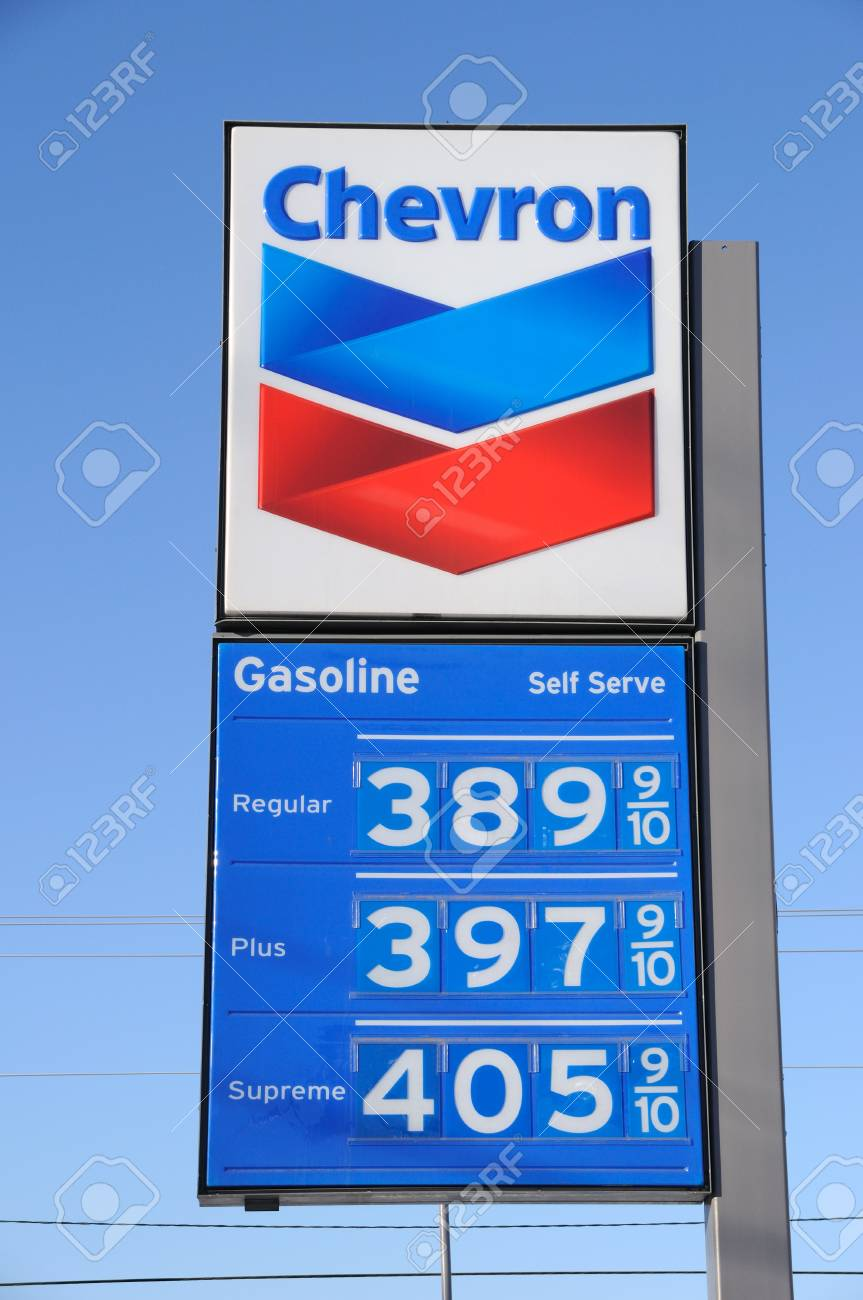 Fairbanks, Alaska, March 5, 2011: Gas Prices Rise Dramatically due to Libyan and  Middle East Unrest Stock Photo - 8971006