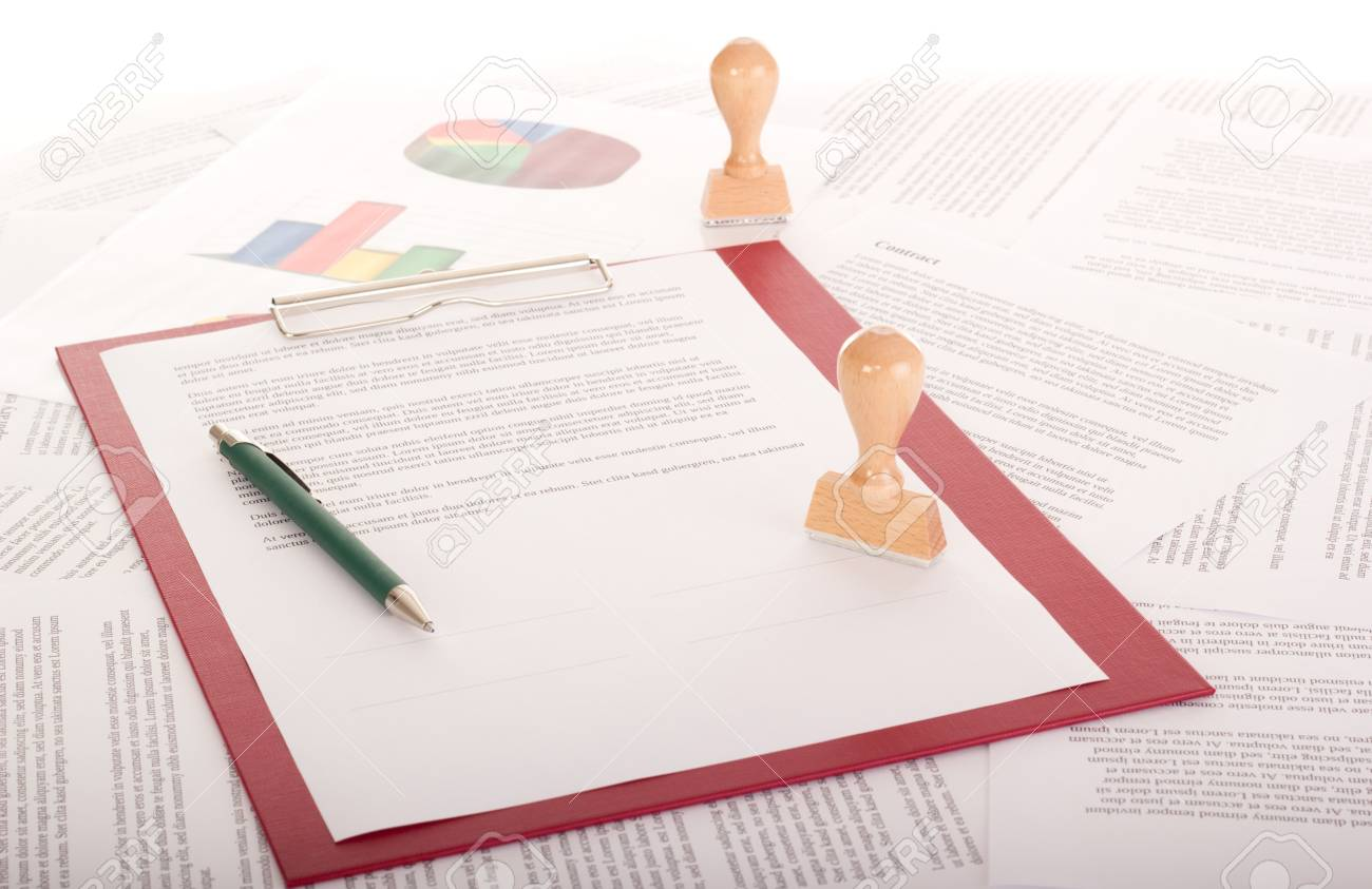 A lot of paperwork Stock Photo - 16575827