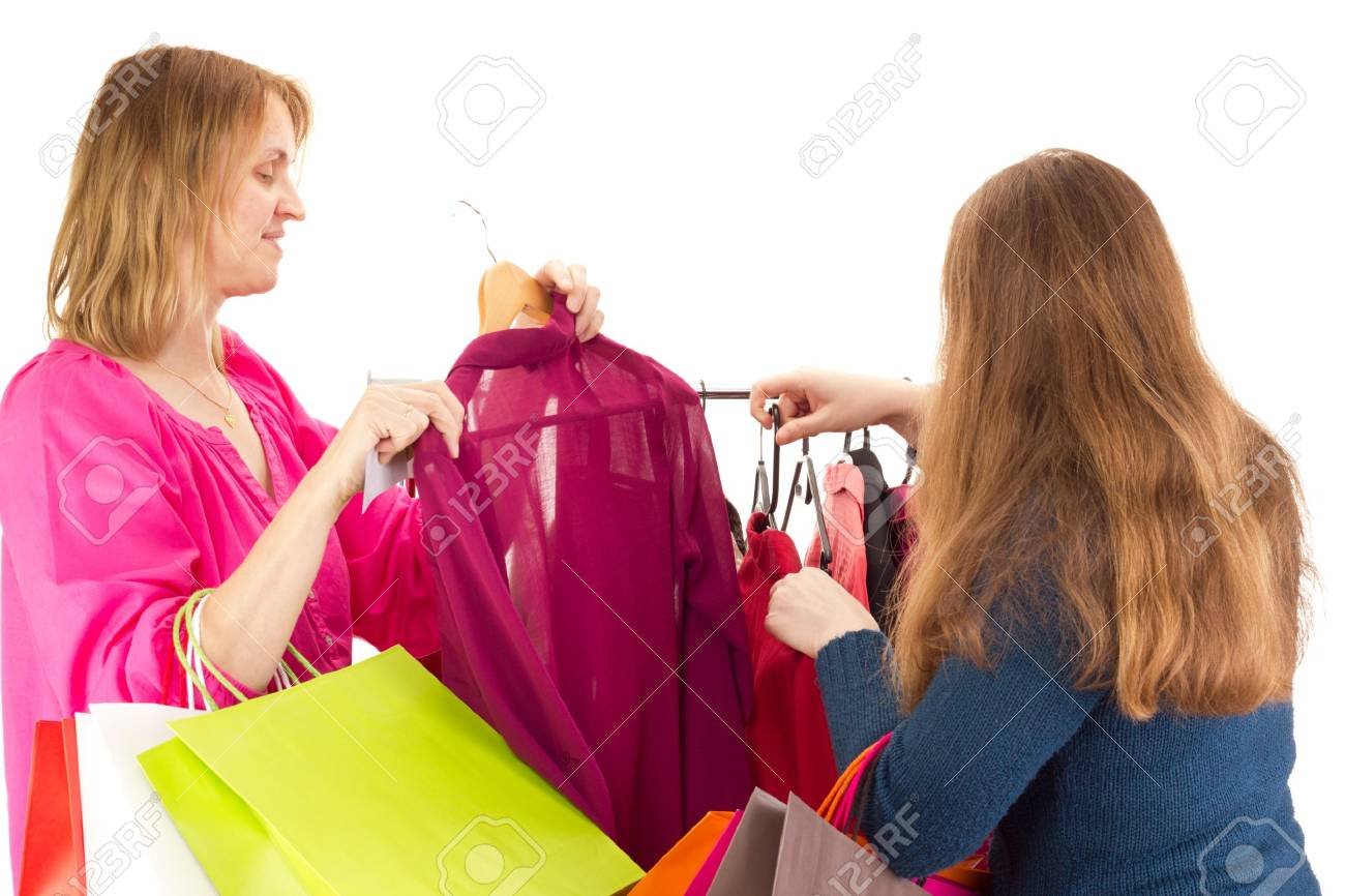 People on shopping tour Stock Photo - 16803269
