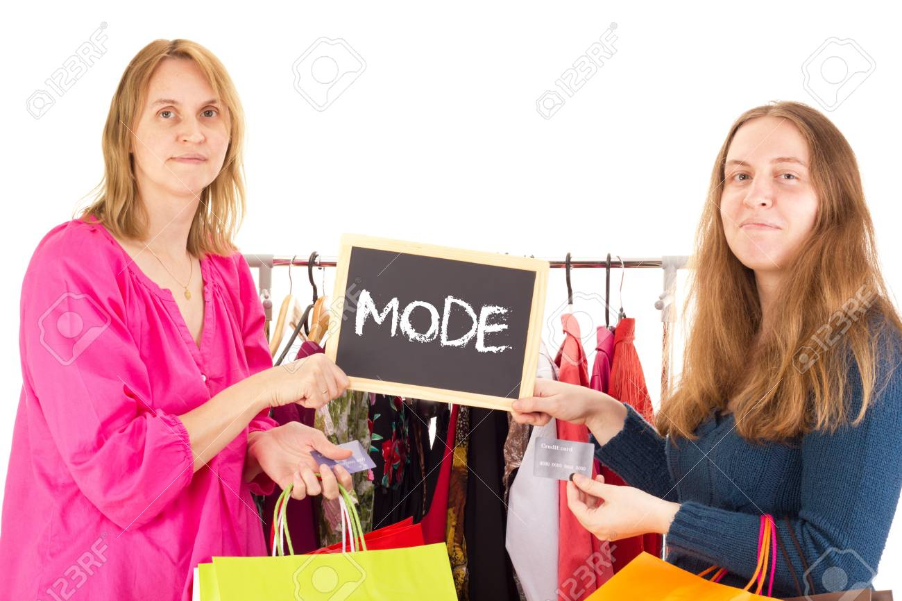 People on shopping tour: fashion Stock Photo - 16904713