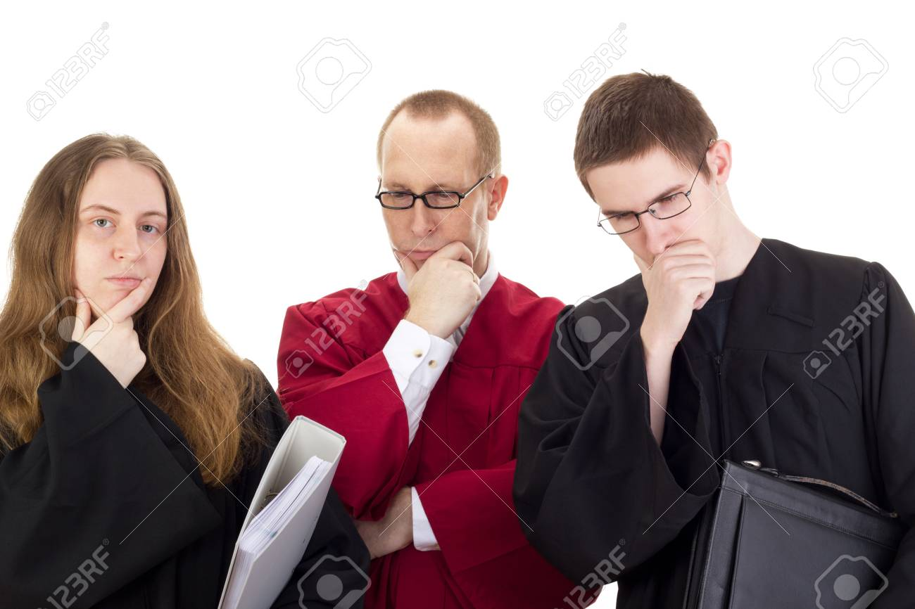Conducting a lawsuit Stock Photo - 17278352