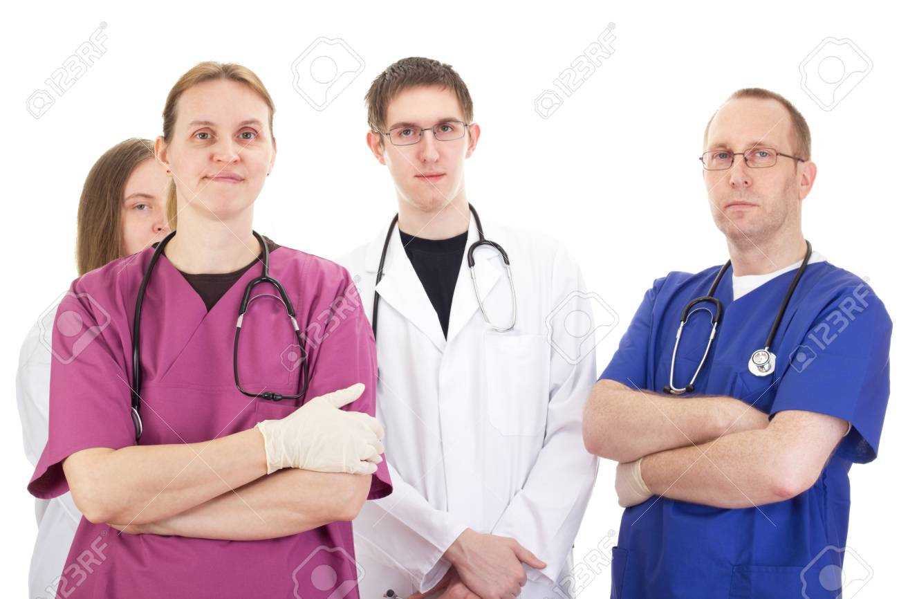 Medical people Stock Photo - 17639713