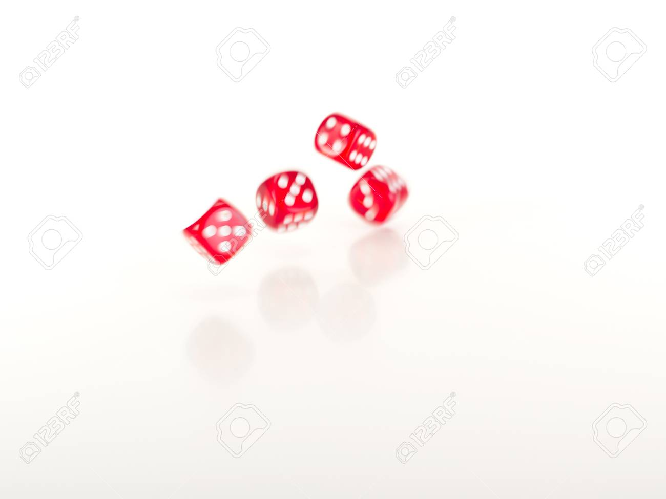 Throwing dice Stock Photo - 17944658