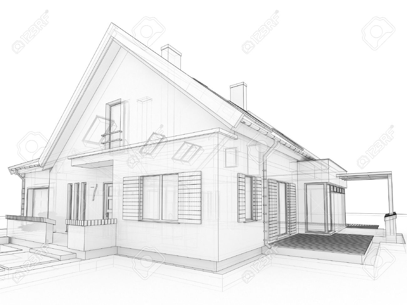 ... Sample House Design Floor Plan 100 Modern House Drawing Cooldesign Home  Drawings ...