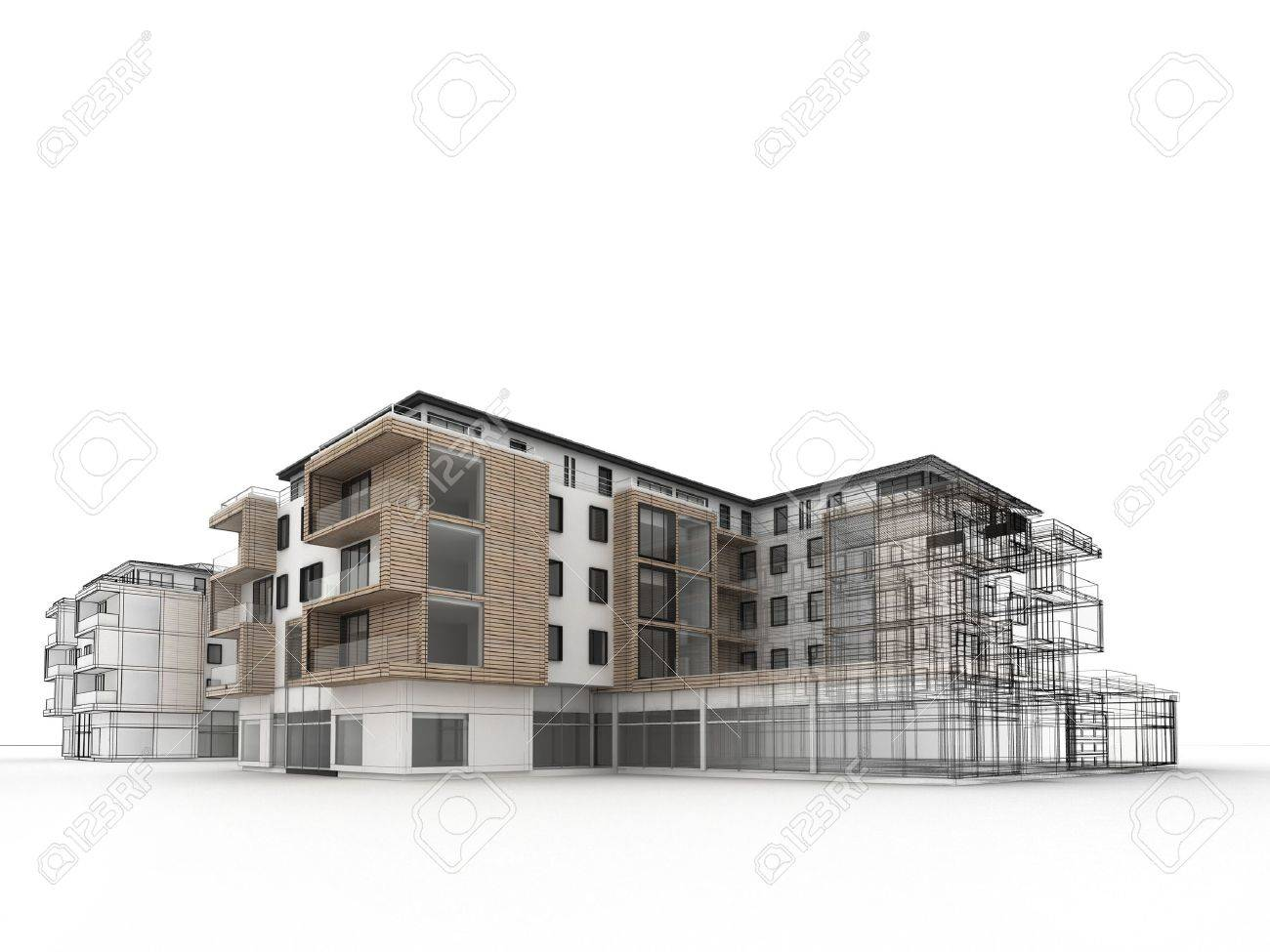 Apartment Building Design Drawing building design drawing
