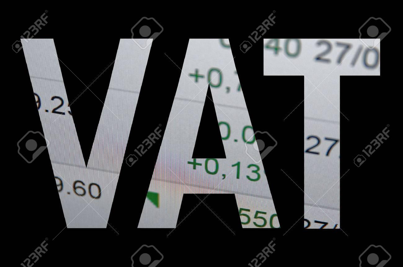 VAT Value Added Tax commercial taxation concept. - 40300375