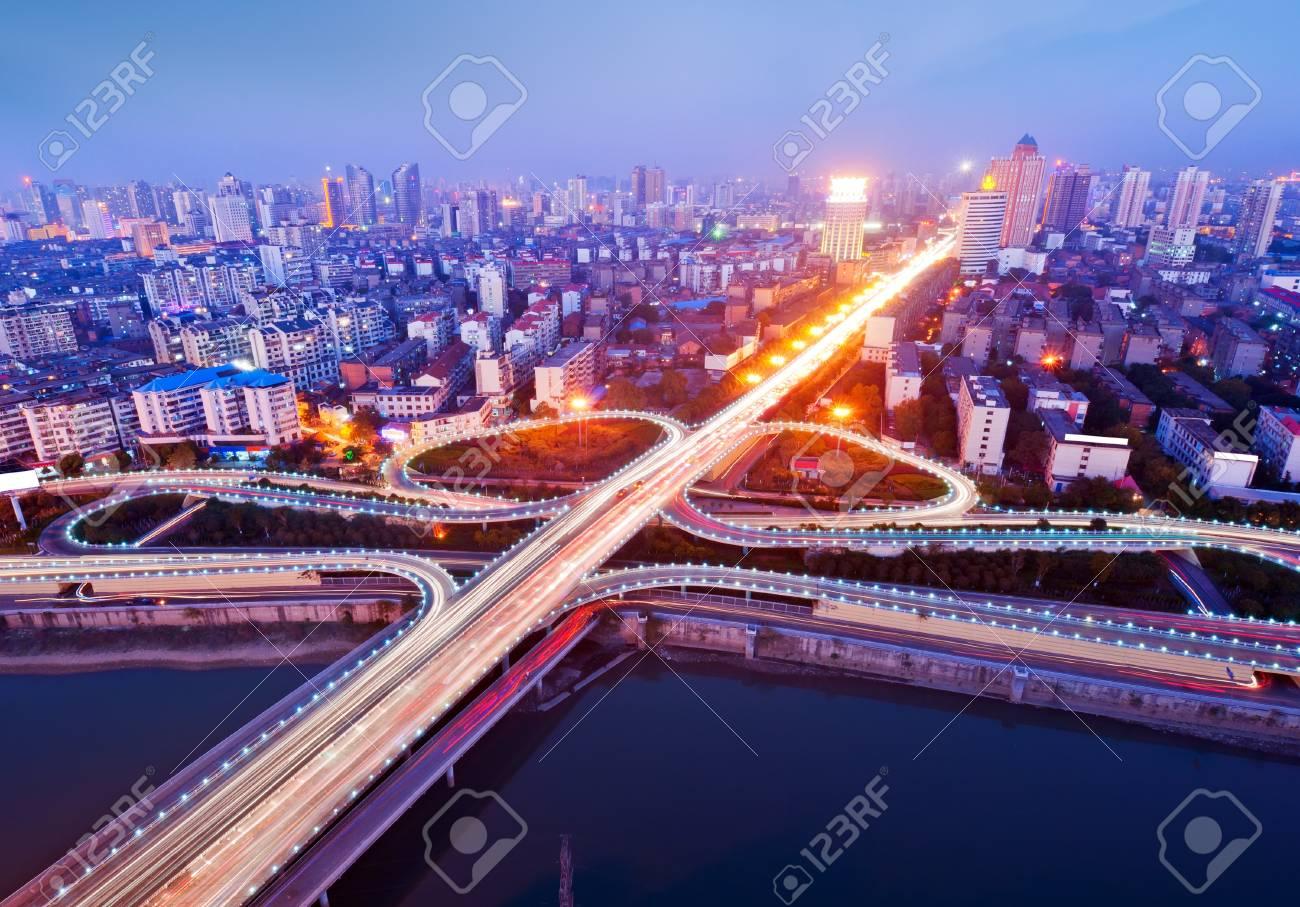 The curve of the eye bridge winding Stock Photo - 11471380