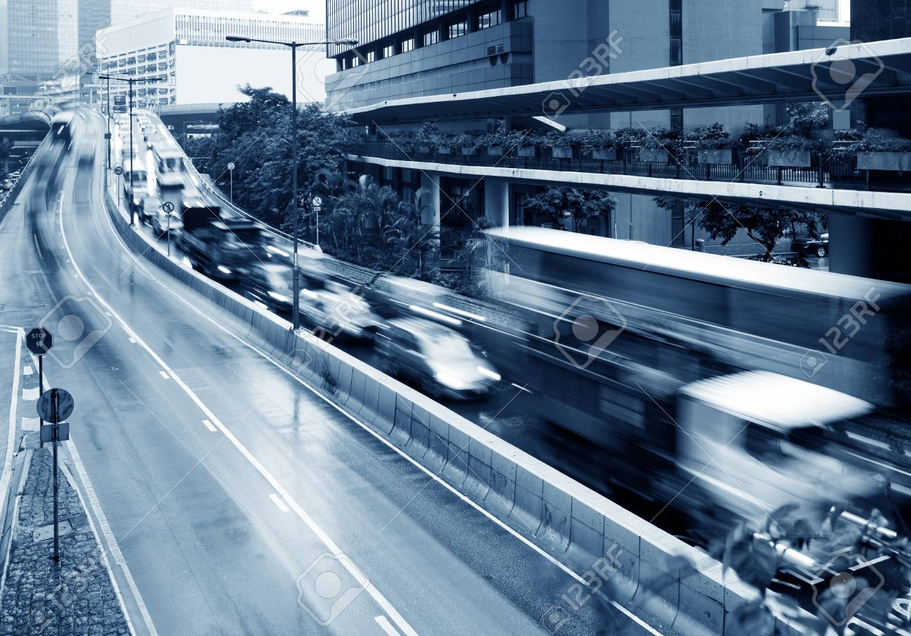 This picture was shot in peak hour traffic. Stock Photo - 24731498