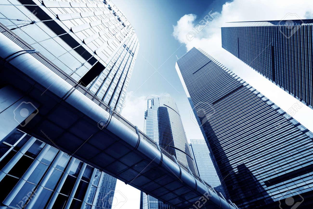 Metropolis of Shanghai's modern office building - 36092364