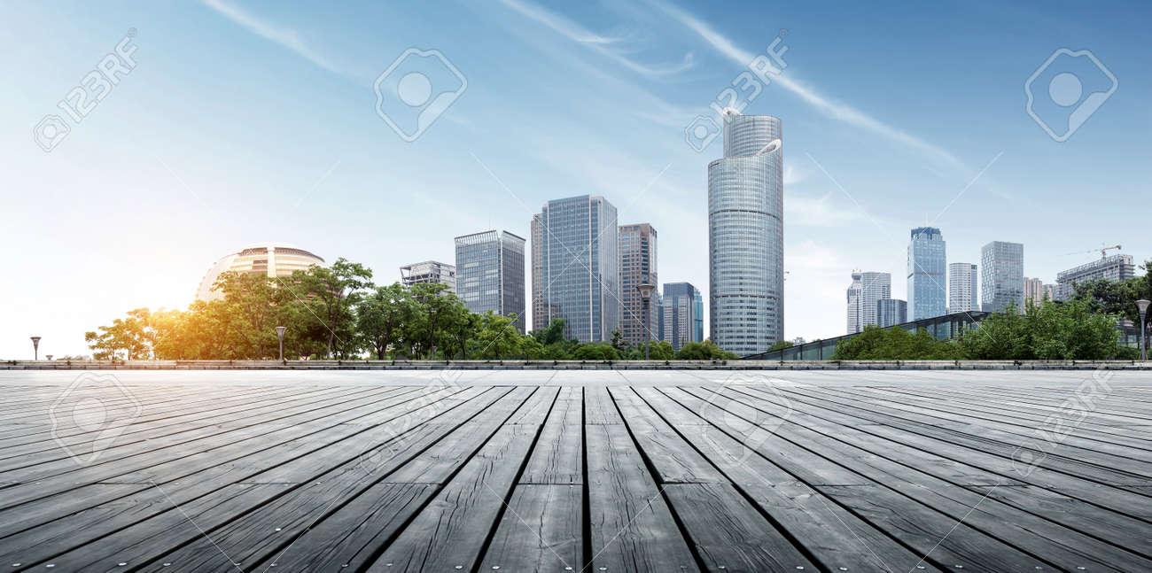 Modern buildings in Hangzhou China - 62598992