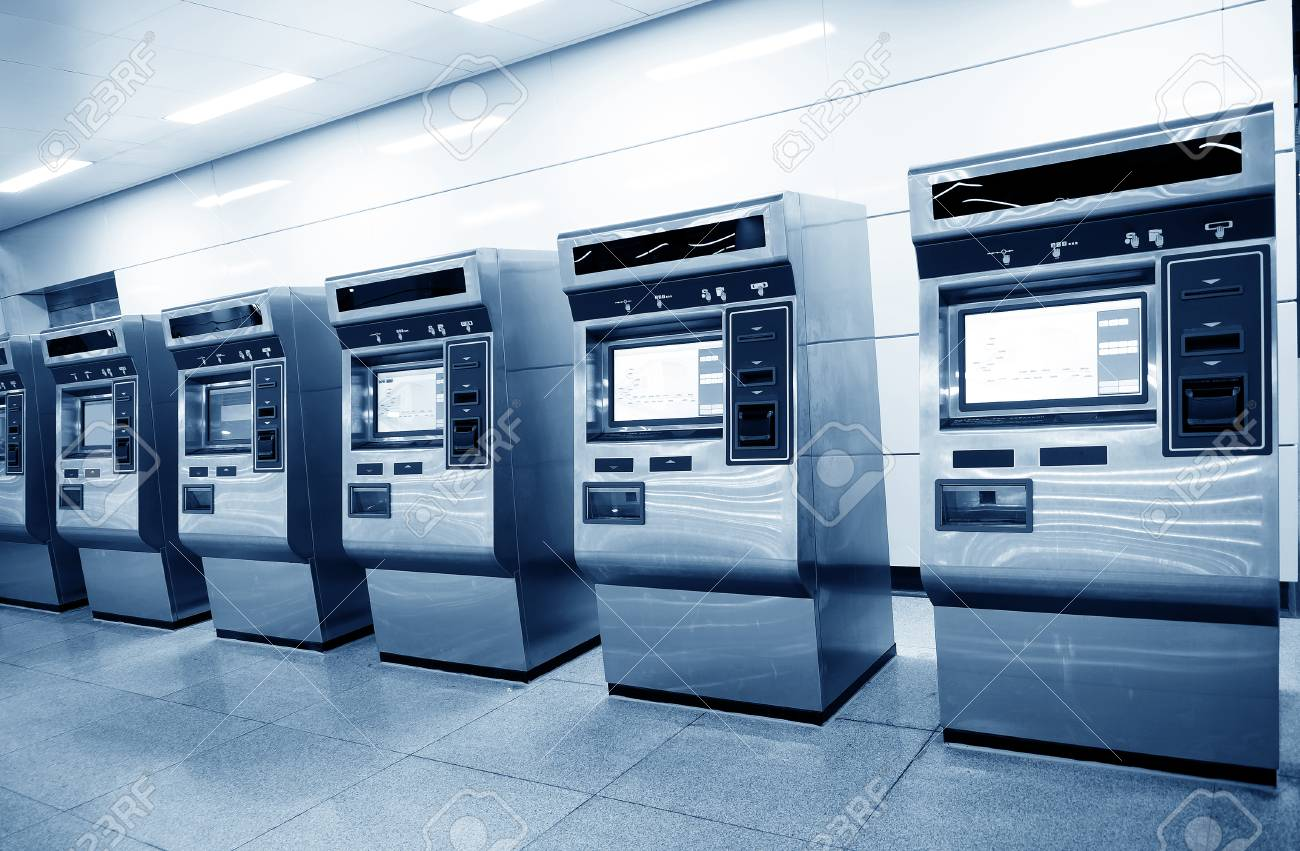 Image result for Automatic Ticket Machine