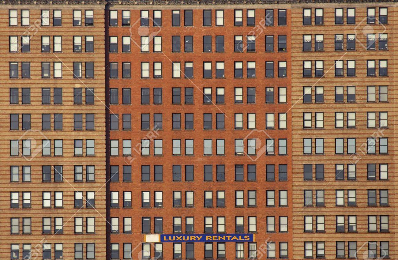 apartments for rent manhattan new york america usa stock photo