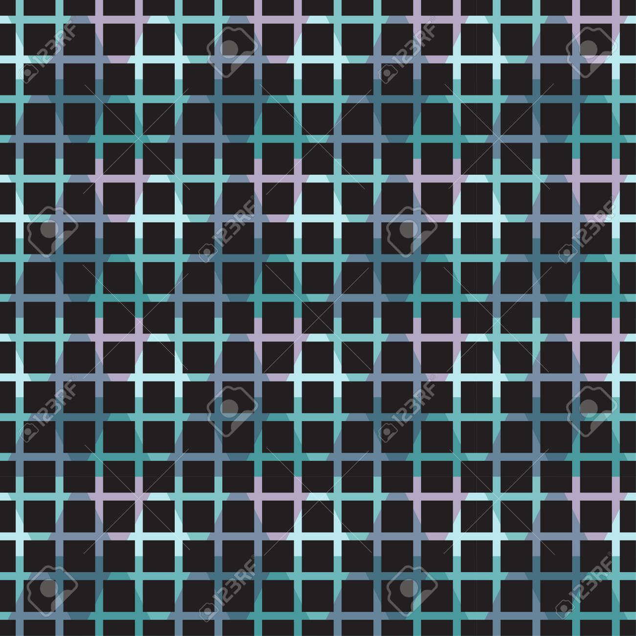 Fond De Carreaux Mosaïque Pixel Abstrait Géométrique Sans Soudure