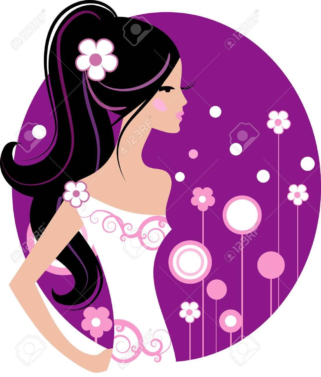 Fashion girl Stock Vector - 6263546