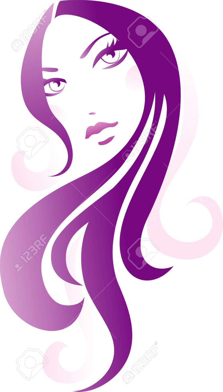 Girl icon Stock Vector - 12284074