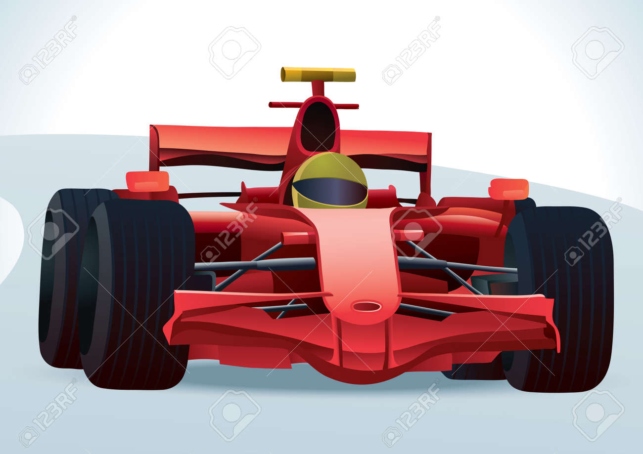 F1 Racing Car Royalty Free Cliparts Vectors And Stock Illustration Image 11108296