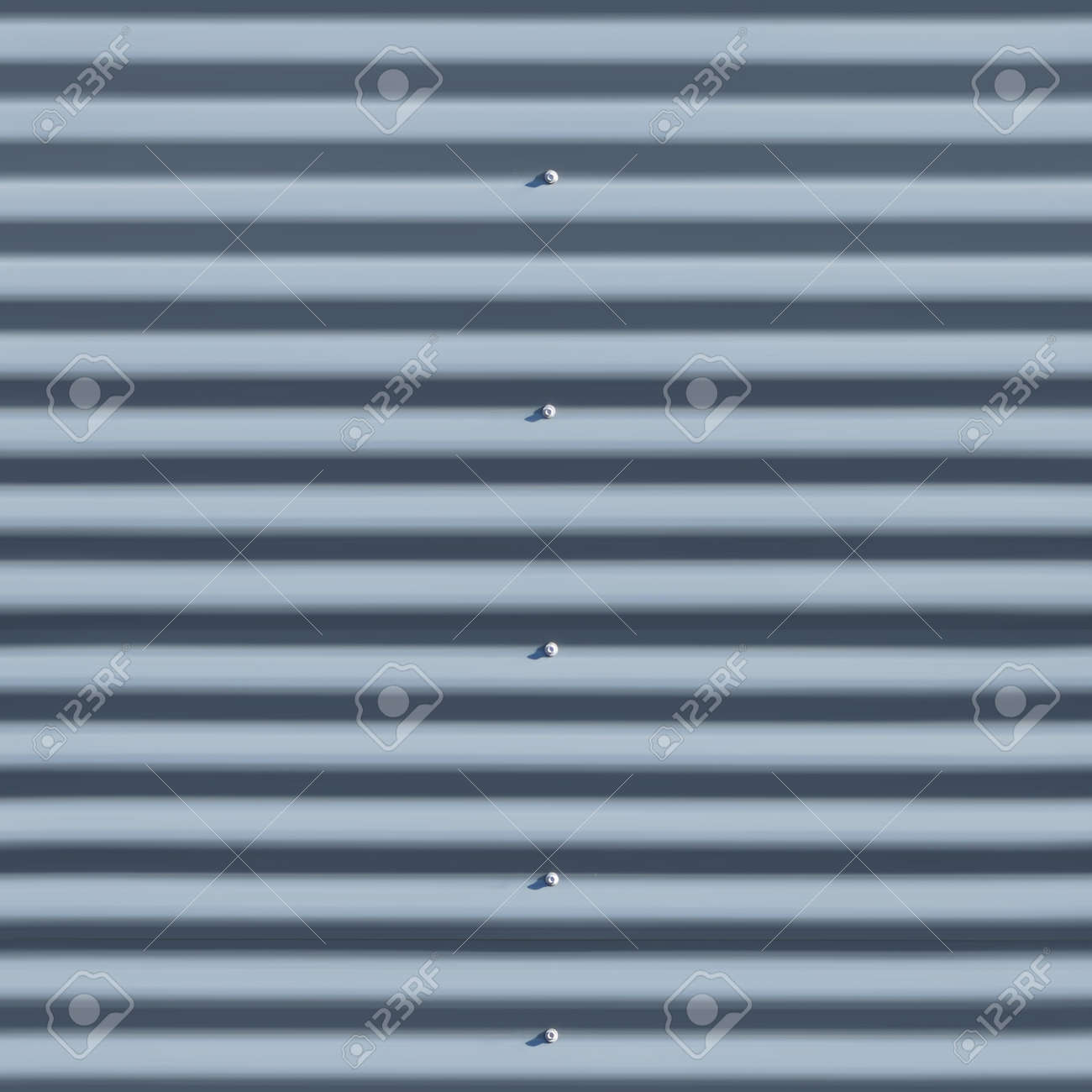 Gray waved sandwich panel wall seamless texture or pattern