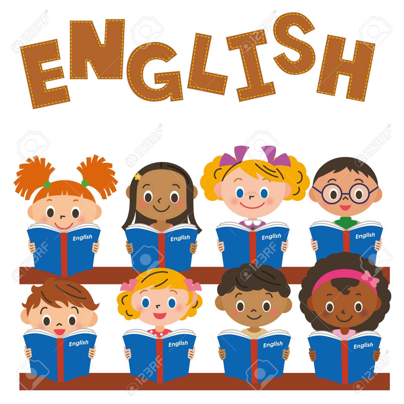 Resultado de imagen de children stdying english