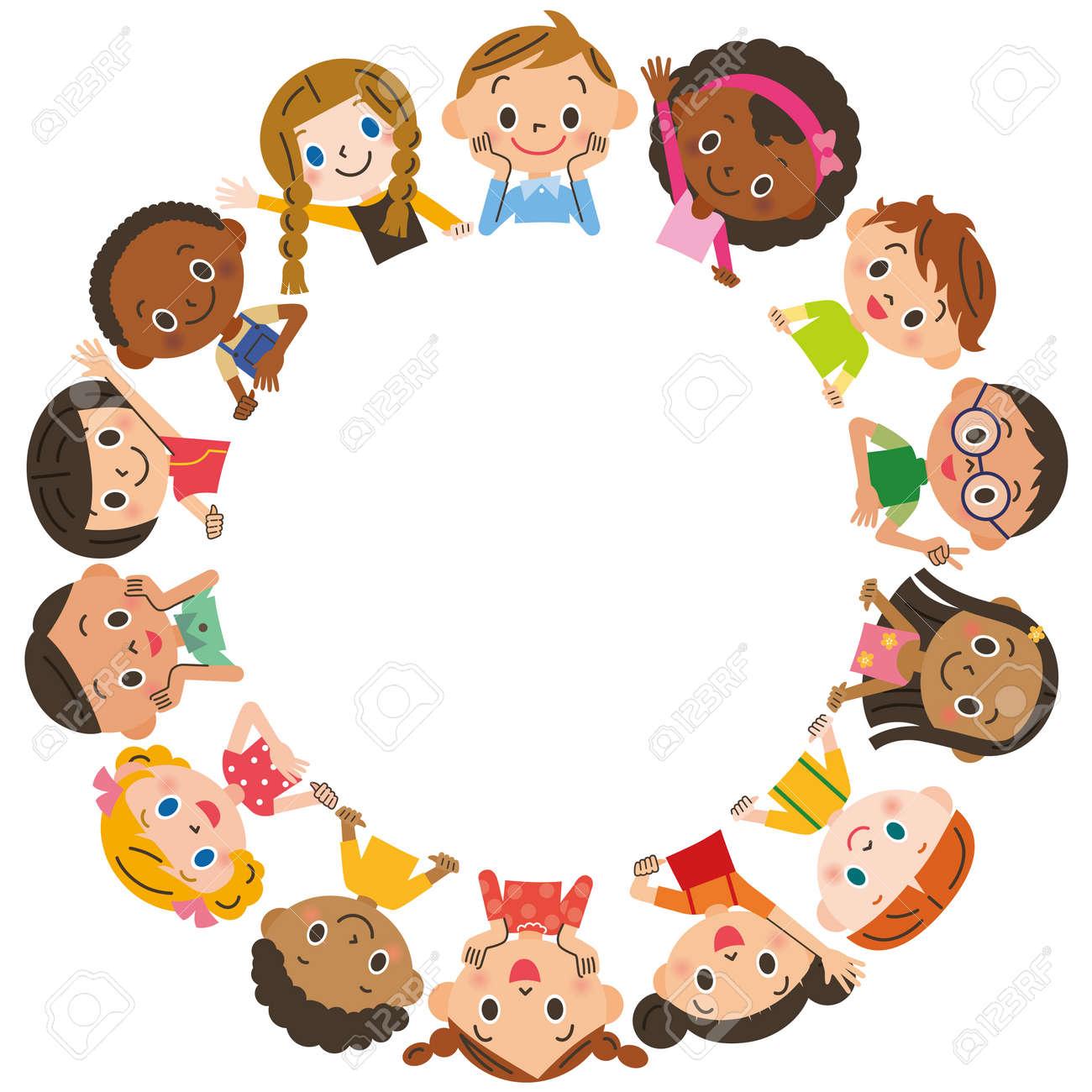 子供会のイラスト素材ベクタ Image 49107429