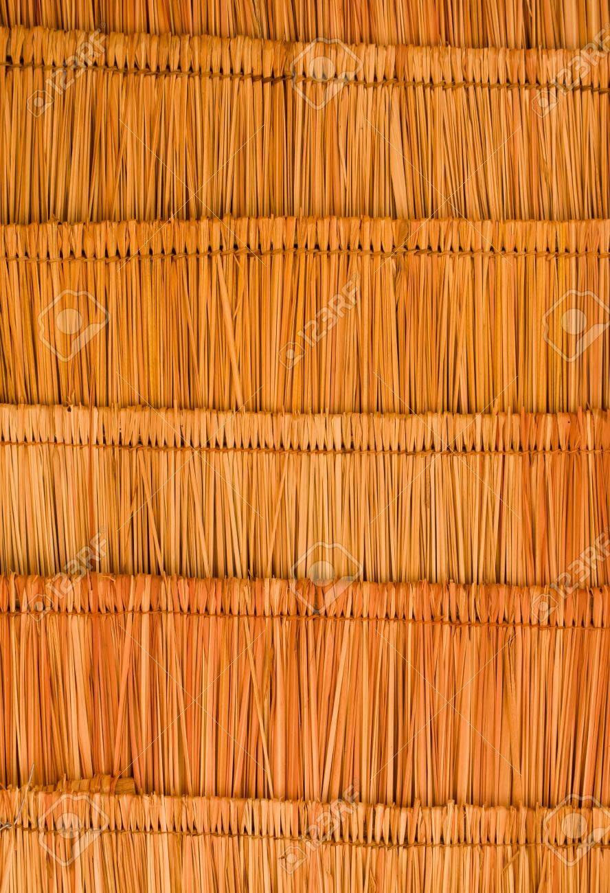 Texture of the classic thatch roof from inside view Stock Photo - 10585440