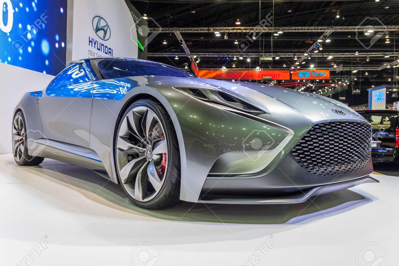 Nontaburi thailand 4 dec hyundai genesis coupe hnd 9 venace concept