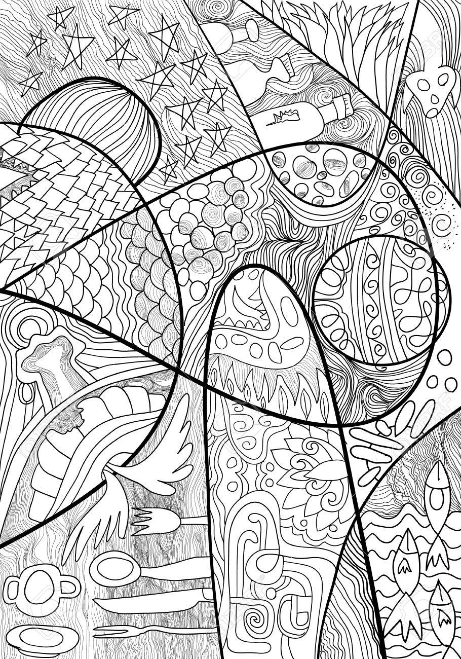 Printable Zentangle Coloring Pages - Coloring Home | 1300x910