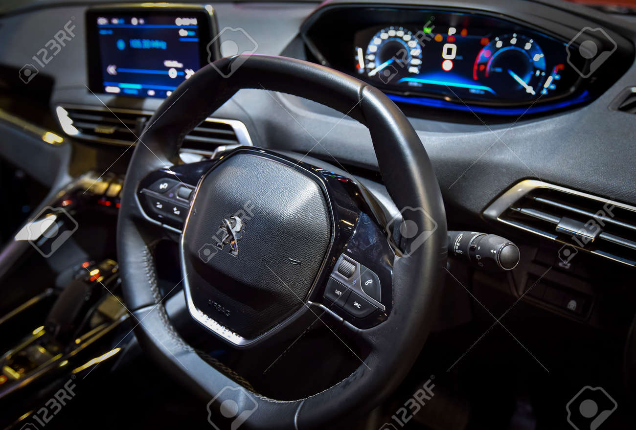 Kuala Lumpur Malaysia Dec 3 2019 View Of Steering And Interior Stock Photo Picture And Royalty Free Image Image 147051286