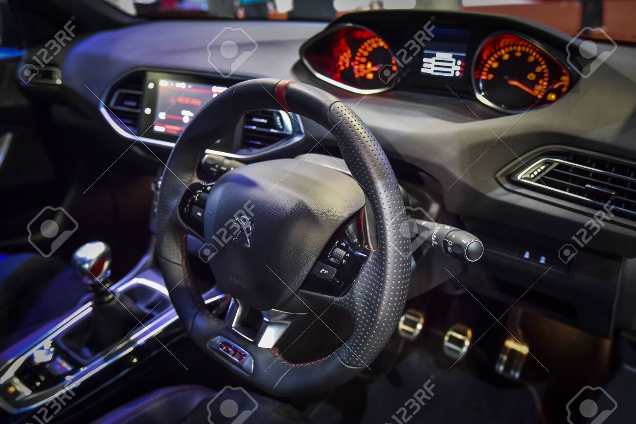 Kuala Lumpur Malaysia Dec 3 2019 View Of Steering And Interior Stock Photo Picture And Royalty Free Image Image 147051395