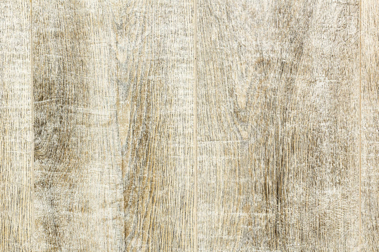Texture Whitewashed Wooden Planks Background Close Up Stock Photo