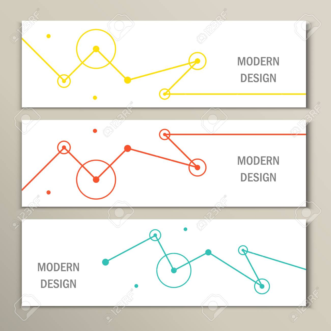 Molecule design template banner. Can be used for work layout, diagram, number options, web. - 46136293