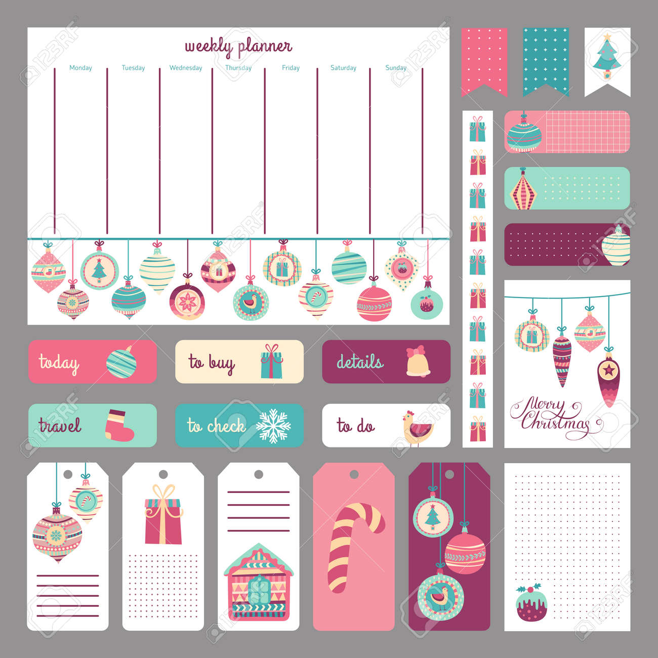 cute holidays planner concept stickers tags templates for cute holidays planner concept stickers tags templates for organized planner template for diary