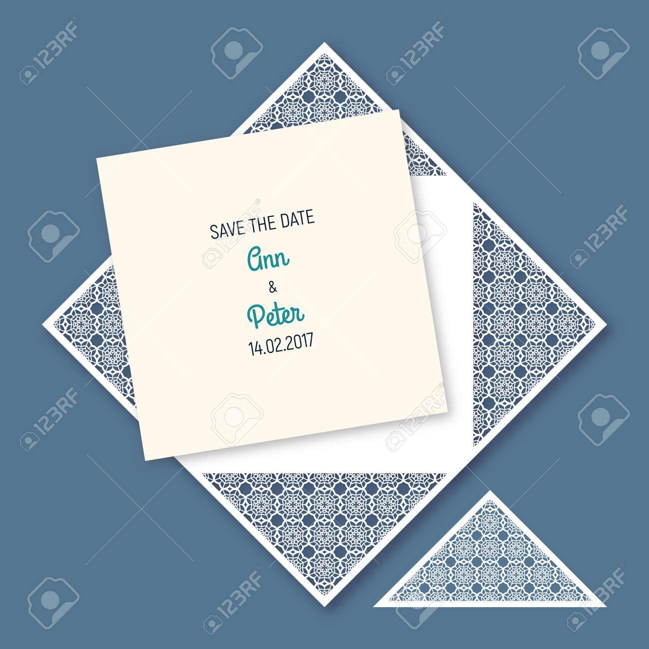 Ziemlich Beispielhochzeits Karten Umschlag Vorlage Fotos - Bilder ...