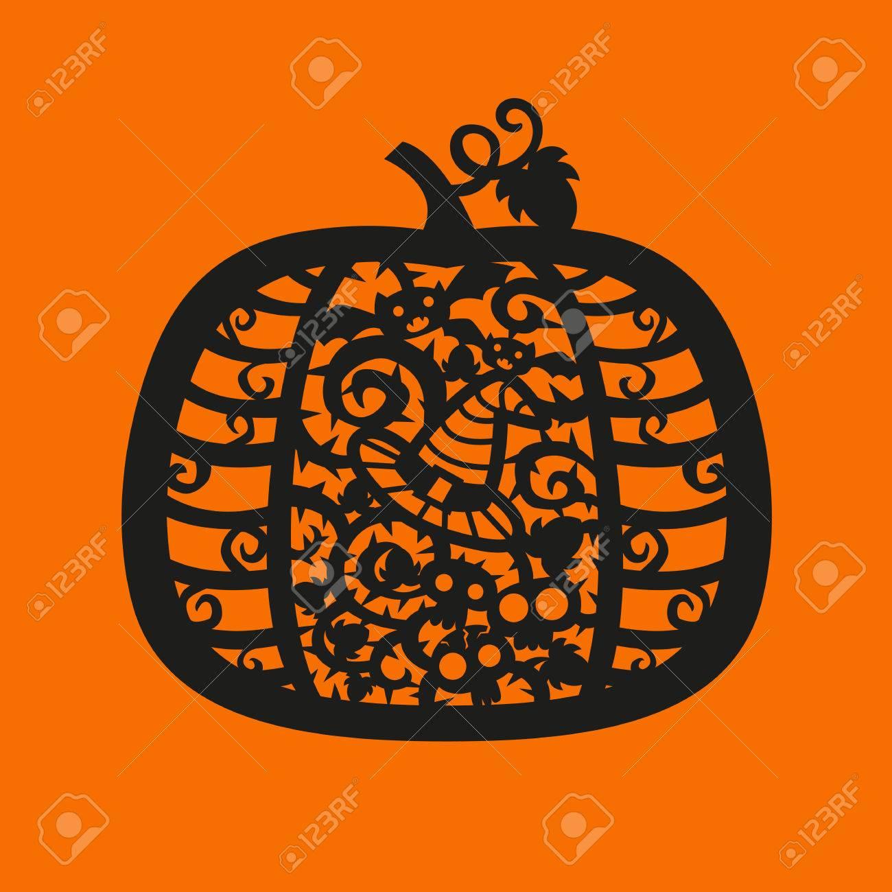 Ungewöhnlich Halloween Kürbis Vorlage Bilder - Beispiel Business ...