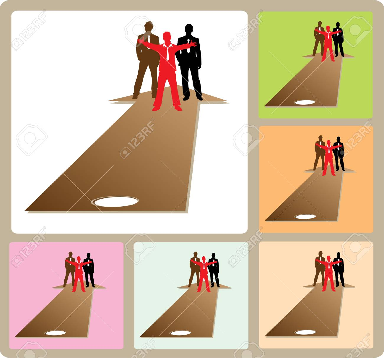 Success business team ready to help Stock Vector - 4254316