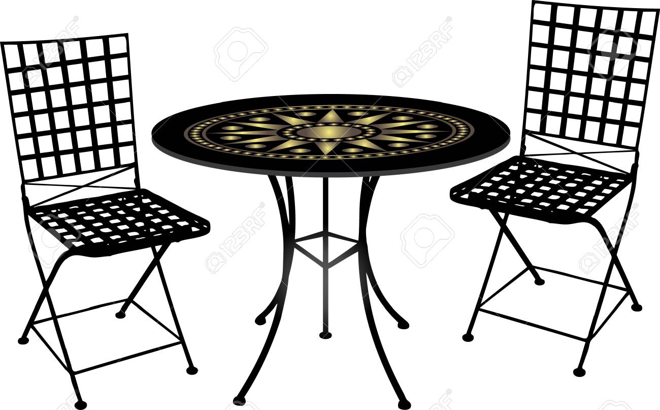 Antique furniture and objects vector Stock Vector - 4271514