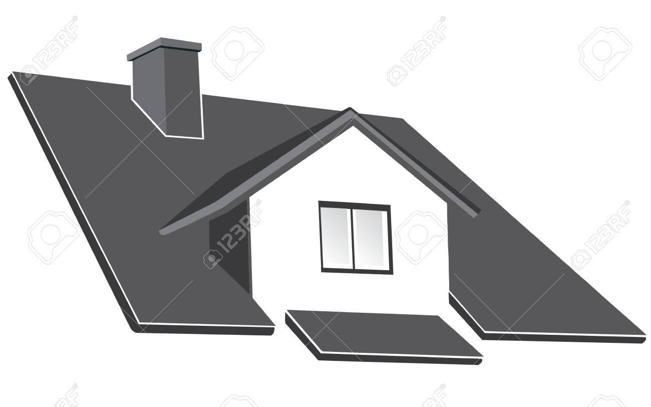 House ruff vector illustration Stock Vector - 5937956