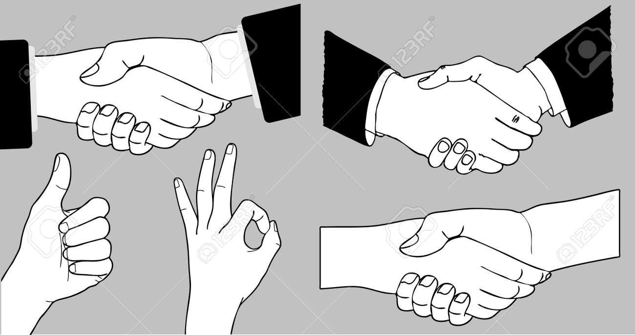 Handshake Stock Vector - 6556466
