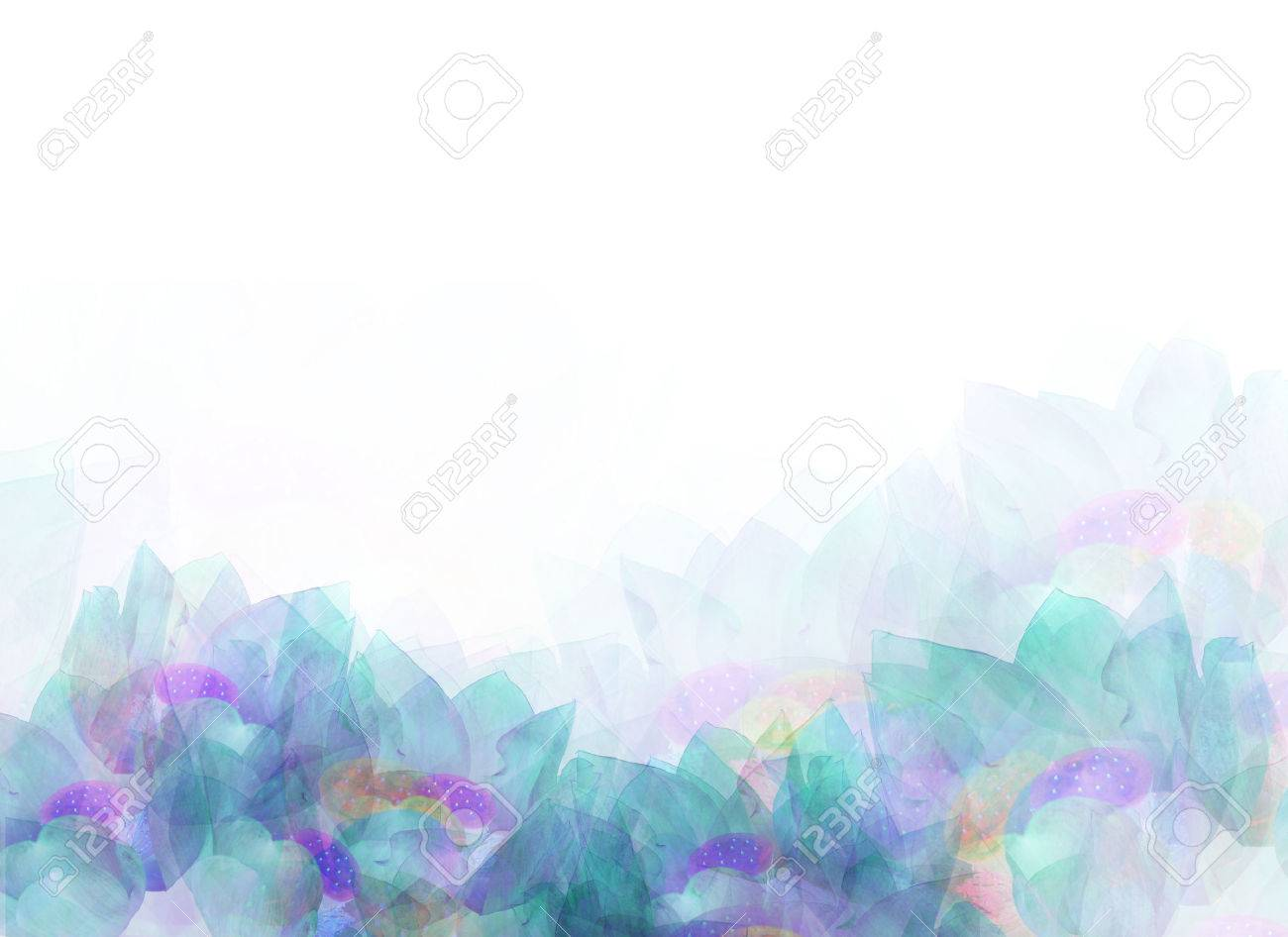 Abstract soft flower background, design - 59433982