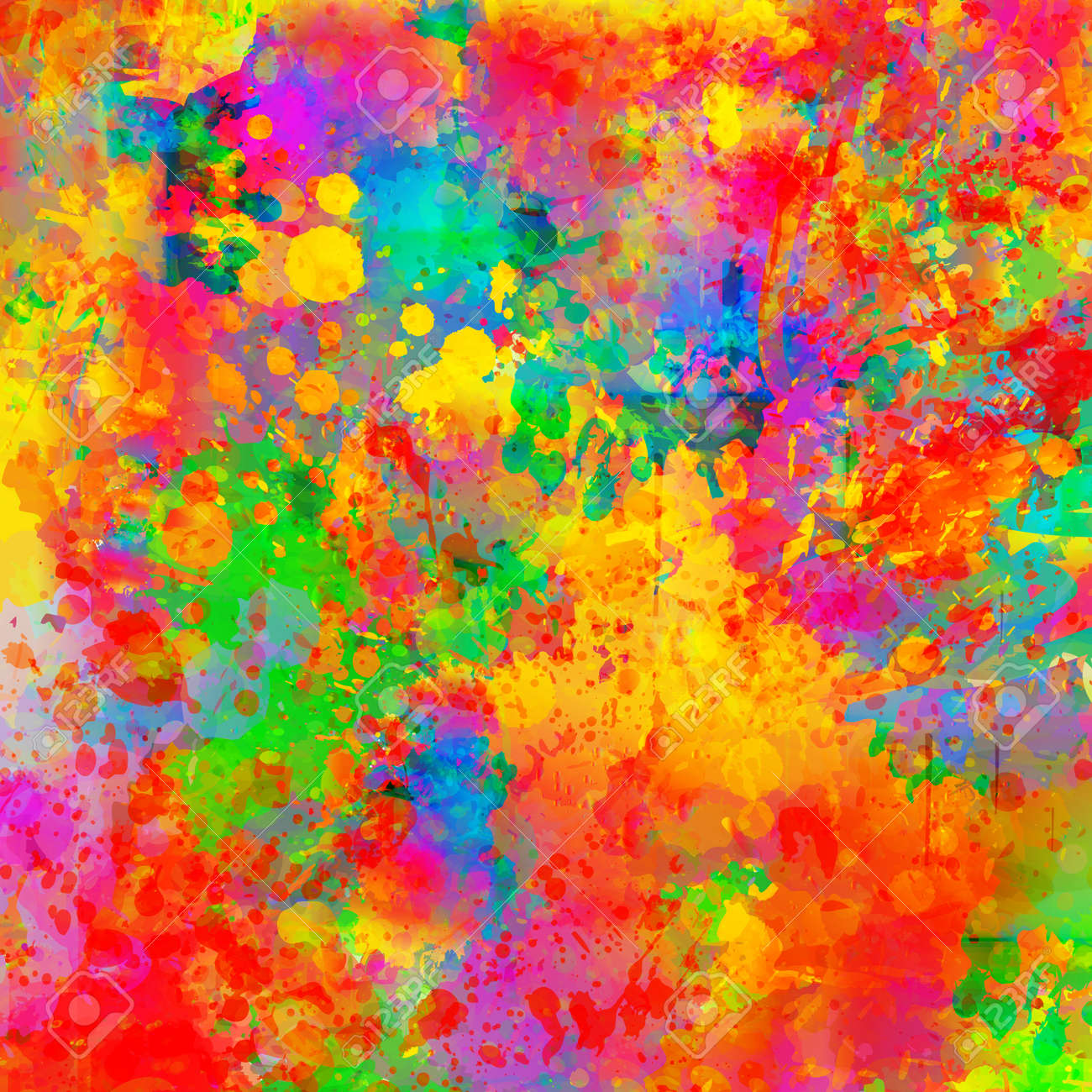 Abstract color splash background - 59434543