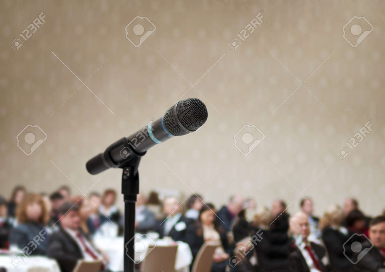 Indoor business conference for managers. Stock Photo - 16408283