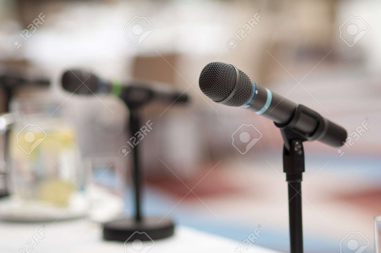 Indoor business conference for managers. Stock Photo - 16408299
