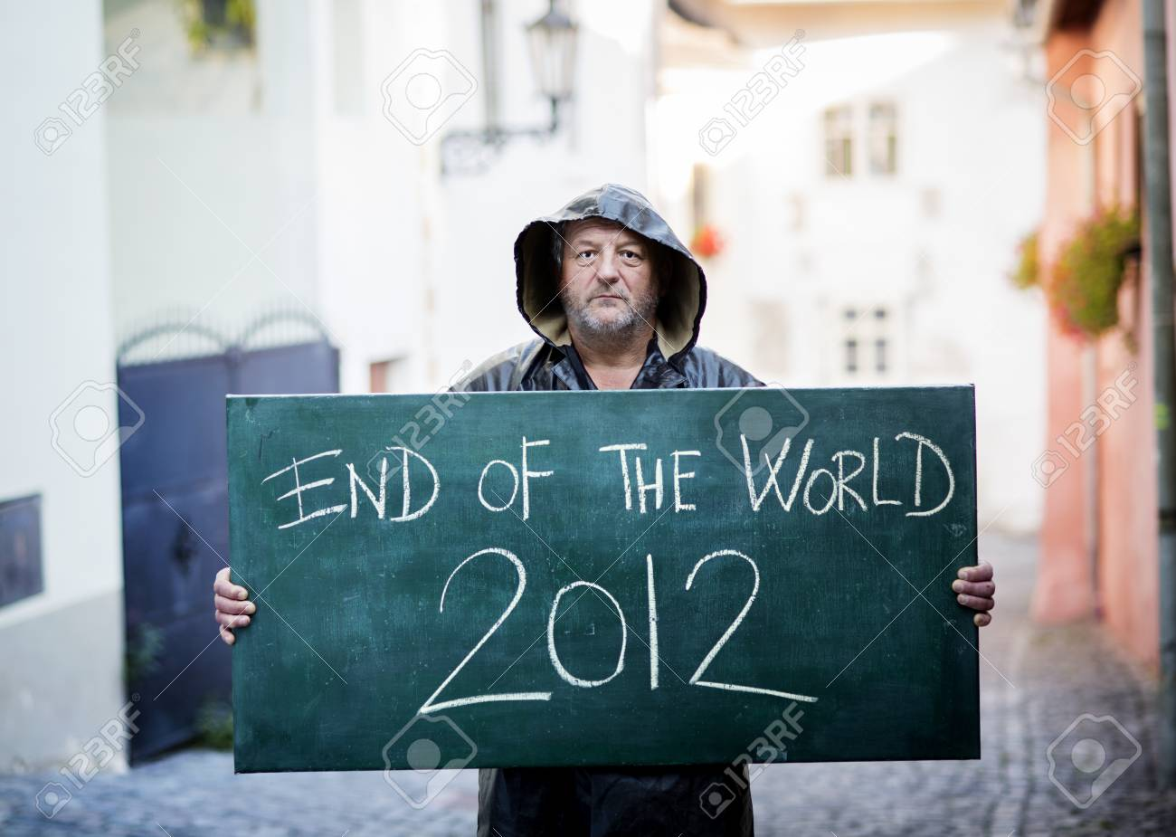 End of the world Stock Photo - 16334606